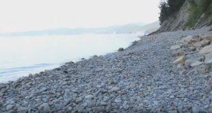 Пляж мыса Кадош в Туапсе