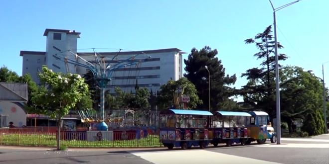 Парк аттракционов в Туапсе
